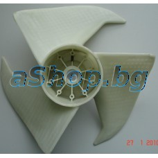 Перка на вентилатор за въшното тяло на климатик,Haier HSU-09RF03/R2,HSU-12RE03/R2