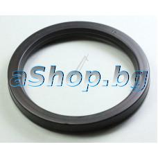 Уплътнение d62/50x6,5mm черно с улей м/у глава и ръкохватка на кафемашина,Bosch TCA-4101/01,TCA-4103/03