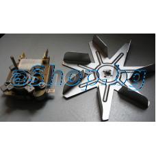 Мотор 230VAC 50/60Hz 11W к-т с перка d150mm за конвекциятана фурна готварска печка, Eurolux FEA-0713/0716X