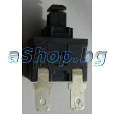 Ключ on/off за прахосмукачка 12A/250V,2 изв.,Taurus/Avensis