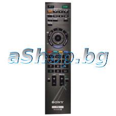 ДУ RM-ED022 с меню за  LCD телевизор,SONY/KDL-40L4000/40ZX1