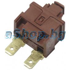 Ключ on/off за прахосмукачка 16A/250V,2 изв.,Electrolux/Z-1100