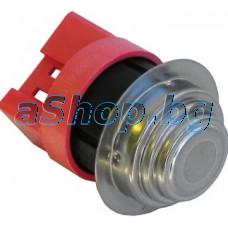 Термостат биметален 60-80C NC, 3-изв.x6.35mm от авт.пералня със сушилня,Zanussi Advantage LC400(914240880)