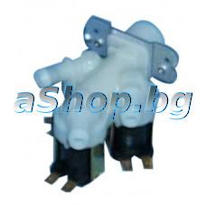 3-пътен елмаг.клапан 230VAC/50-60Hz,ED 100%,Tu90°C/Tm25°C,3-way  за авт.пералня ,Beko WM-5550T