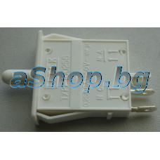 Бутон-ключ 250VAC/0.25A за осветлението 2-изв.за врата на хладилник,AEG S-75438G,S-75438KG