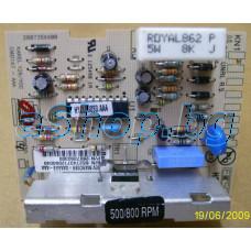 Платка за контр.на скороста на авт.пералня 500/800rpm/240VAC,Beko,LG WD-8004C