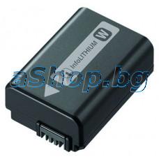 Батерия infoLithiun NP-FW50, 7.4V/1.08Wh,975mAh за фотоапарат,SONY/Alfa SLT-A35,NEX-C3,5N,7