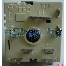 Пакетен ключ 7-изв.,.-позиц.254VAC/13A,50.57021.010 за ел.гот.печка,Bompani BO-263PB/270/250/650