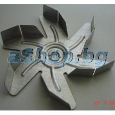 Перка на мотора (метална) d180mm  от фурна, Zanussi ZCM-565NW,Electrolux EKV-5600