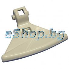 Дръжка-бяла за люка на автоматична пералня,Crown EVO-68,Vestel,Neo,Finlux,Smeg