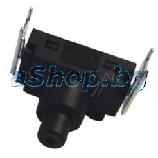 Захр.ключ от прахосмукачка,230VAC/3A ,2-pins,Philips FC-8396