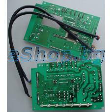 Платка у-ние с LCD + платка захранване за миялна машина,Midea WQP12-9235