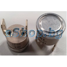 Термостат-биметален за 115°C,отв.115°C/зат.95°C,250VAC/16(3)A,2x6.35mm,Campini Ty.60,Type 261/P