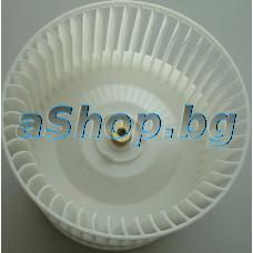 Турбина двойна-перка d130xH120.5mm от вентилатор за аспиратор,Teka TL1-62,CNL-3000,CNL1-3000HP,Sidepar