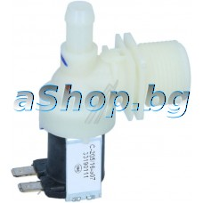 Елмаг.клапан единичен 230VAC/50-60Hz,за миялна м-на,Midea WQP8-9241 B