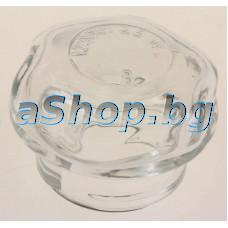 Стъкло за плафон d52xH37mm на крушка от готварска печка,Amica,Hansa 112.3YX