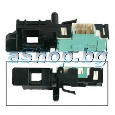 Ел.ключ.DA004 16A/250VAC за блокир.на люка на авт.пералня 3-pin,Candy ,Beko