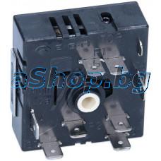 Ключ-регулатор керамичен 8-изв.x6.35мм,осd6x22mm,250VAC/13A за керам.плот,EGO,45x48x22mm