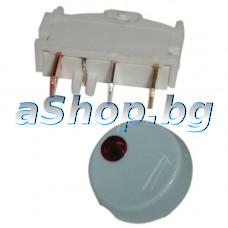 Захранващ ключ 220VAC/10A  за фритюрник ,Philips HD-6140