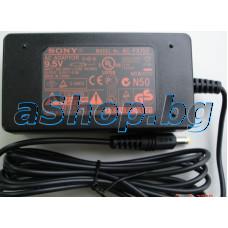 Адаптор за поратативен DVD-плеер вход 100-240VAC/0.8A->9.5VDC/2.0A,Sony/DVP-FX720/810/850