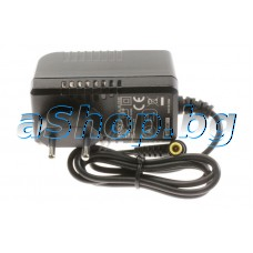 Адаптор за поратативен DVD-плеер вход 100-240VAC/0.8A->12VDC/0.95A,Sony/DVP-FX780