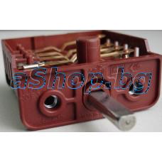 Ключ 4-позиц.10-изв.250VAC/16A  T150 за ел.готв.печка универсален,411.9917001580 За печки прозводство на ВИКОМ