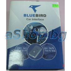 Емулатор на CD-changer к-т за BMW3/7/8/840/850 с вход за AUX/MIX,SD and USB памет,Bluebird