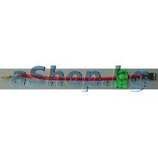 Кабел свързващ 2.5м2x150mm с каб.ухо и каб.женска обувка 6.5 мм за проточен бойлер,TESY/Geyser Inline