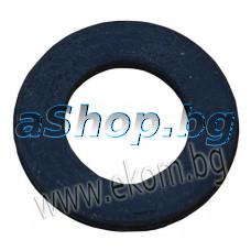 Уплътнение за фланец(нагревател) на бойлер кръг без отвори-профилно d115/90x11.5mm,Елдоминвест