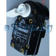 Терморегулатор + термоизключвател 40-80°C,15A/250VAC,Тип Rester TAS-300RF за бойлери,Ariston