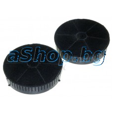 Филтър (carbon filter type.57 flash (d172xH35 mm) 1 бр.за аспиратор,Ariston AH-62CMXHA(AQ840000000)