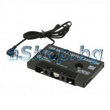 Аудио-касета-адаптор за свързване на друг аудиоизточник към авторадиокасетофон,CD Car cas.adap.MP3