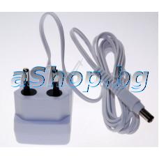 Адаптор 220-240VAC/12VDC 0.4A,plug:  5.5x2.5mm за епилатор,Rowenta EP-5344