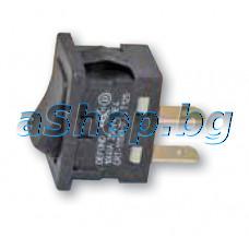 Мрежов ключ за фритюрник 10A/250VAC,19.5x13x14mm,2-Изв.,De Longhi FP-A