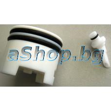 Бутало комплект с 2-уплътнения (d35/42x3.5mm) за кафемашина,Krups XP-7200,EA-8050PN/700
