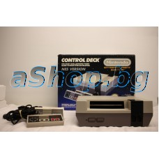 Електронна игра,конзола с 1 джойстик и к-т кабели с адаптор,Nintendo NESE-001