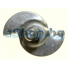 Привод(метален) за мотора на хлебопекарна ,Moulinex OW-300001/B72