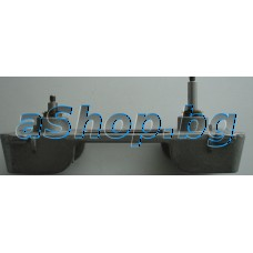 Метален куплунг под тефлоновия казан(2 бъркалки) на хлебопекарна ,Moulinex OW-500030/5003XXL,OW-502330